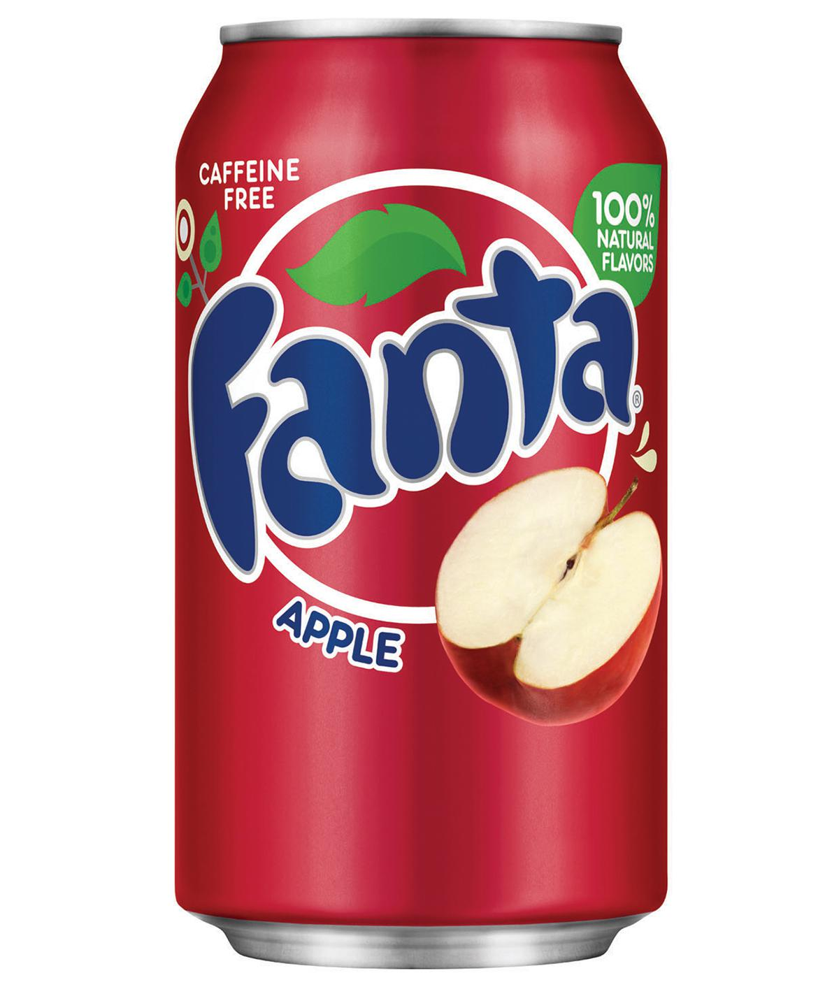 FANTA APPLE RED USA CANS 355ML X 12