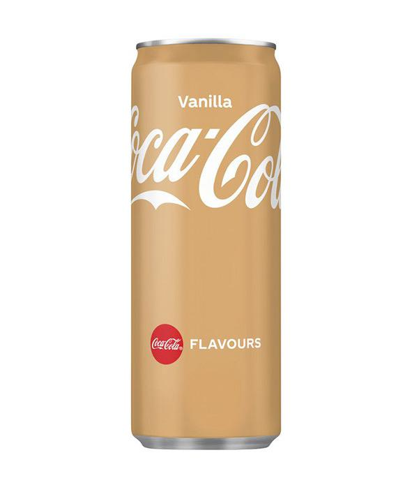 COCA COLA VANILLA IMPORT CANS 33CL X 24